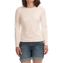Stretch Modal-Cotton Shirt - Long Sleeve (For Women) in Cream - 2nds