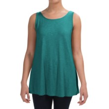 Stretch Slub Jersey Tank Top (For Women) in Teal - 2nds