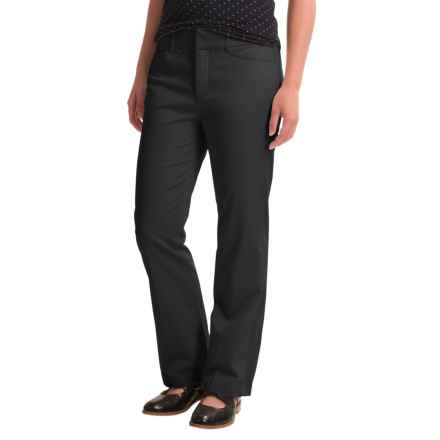 Stretch Twill Pants (For Petite Women) in Black - 2nds