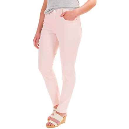 Stretch Twill Pants (For Petite Women) in Pink - 2nds