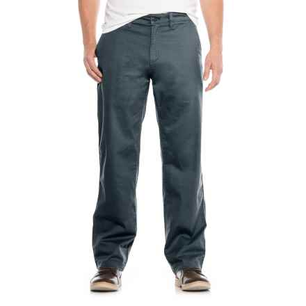 Stretch Twill Utility Chino Pants (For Men) in Midnight - Closeouts