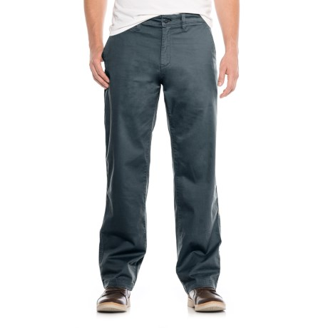 Stretch Twill Utility Chino Pants (For Men) in Midnight