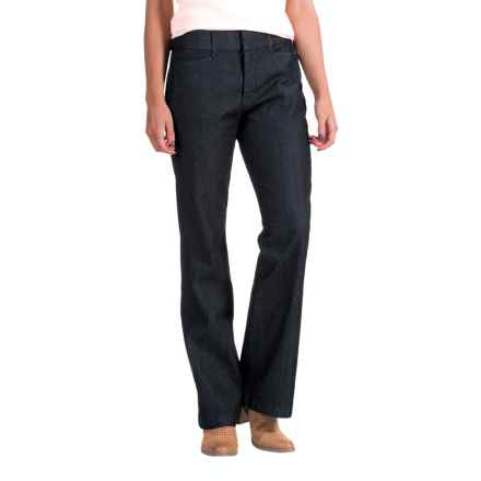 Stretch Waistband Pants (For Women) in Dark Indigo - 2nds