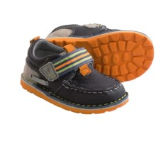 Stride Rite Medallion Collection Dane Shoes - Leather (For Infants) in Navy Multi - Closeouts