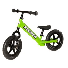Strider Classic No-Pedal Balance Bike (For Kids) in Green - Closeouts