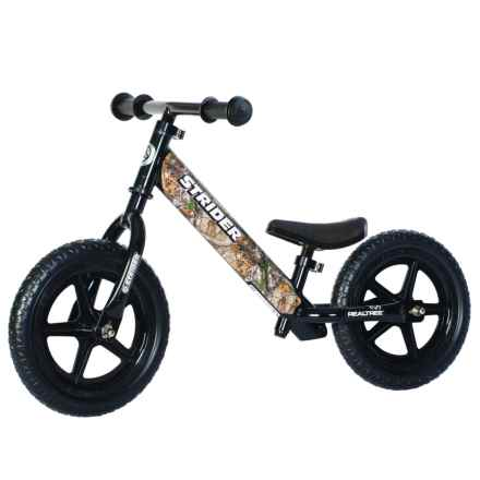 Strider Realtree® Balance Bike (For Kids) in See Photo