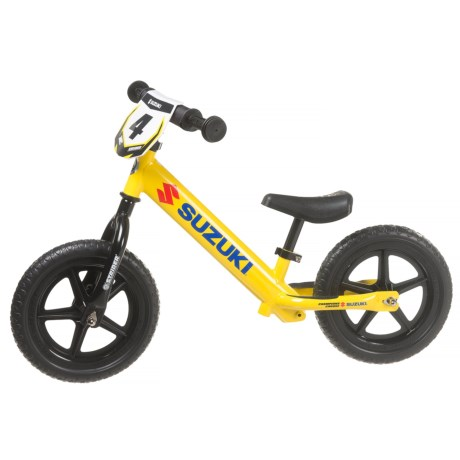 Strider Suzuki 12 Sport No-Pedal Balance Bike (For Little Kids)