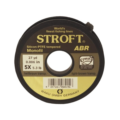 Stroft ABR Tippet Material - 27 yds in See Photo
