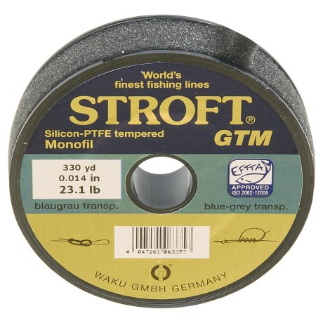 Stroft GTM Tippet - 23.1 lb., 330 yds. in See Photo