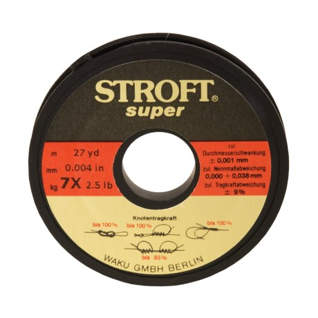 Stroft Super Tippet Material - 27yd in See Photo