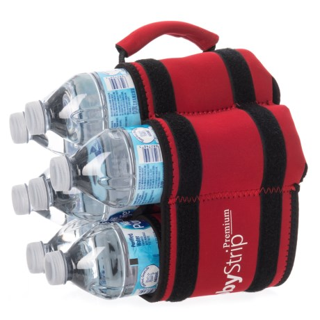 StubbyStrip Original Neoprene Bottle and Can Holder in Red