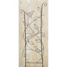 "Studio M Patina Trellis - 20.75x58"" in Birds - Closeouts"