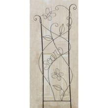 """Studio M Patina Trellis - 20.75x58"""" in Butterfly - Closeouts"""