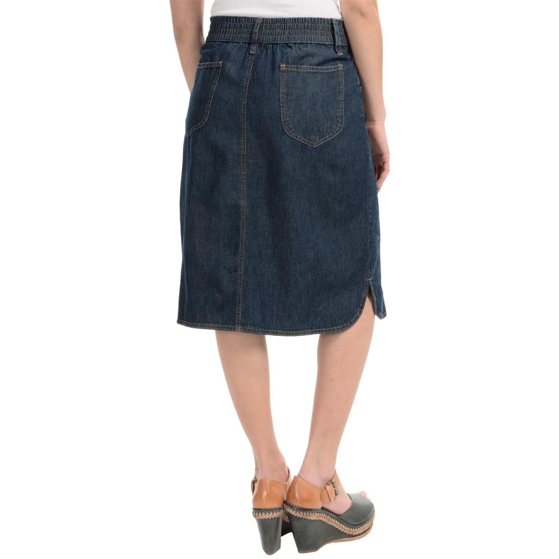 studio west classic denim skirt for save 50