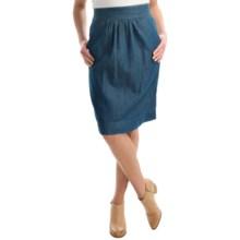 Studio West Denim Skirt (For Women) in Denim - Overstock