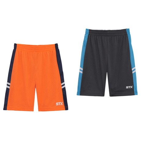 STX Athletic Shorts - 2-Pack (For Little Boys) in Multi