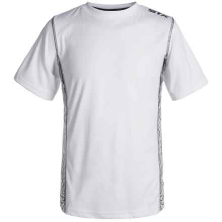 STX Athletic T-Shirt - Short Sleeve (For Big Boys) in White - Closeouts