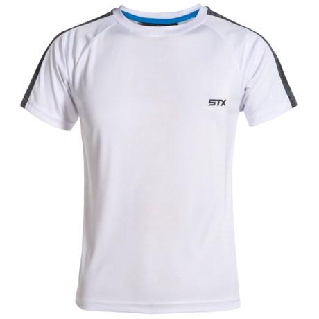 STX High-Performance T-Shirt - Short Sleeve (For Big Boys) in White