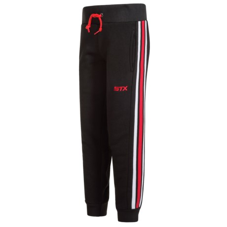 STX Solid Striped Joggers (For Little Boys)