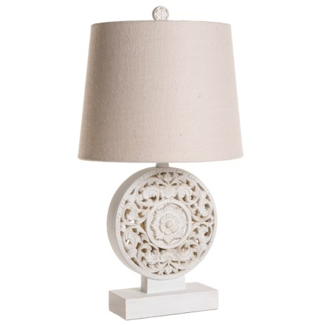 "Stylecraft Bohemian Lamp - 24"" in White"