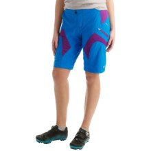 SUGOi Evo-X Mountain Bike Shorts (For Women) in True Blue - Closeouts