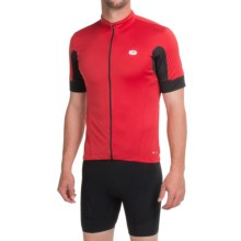 SUGOi Evolution Cycling Jersey - Full Zip, Short Sleeve (For Men) in Chili Red - Closeouts