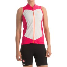 SUGOi Evolution Cycling Jersey - Full Zip, Sleeveless (For Women) in Rose Red - Closeouts