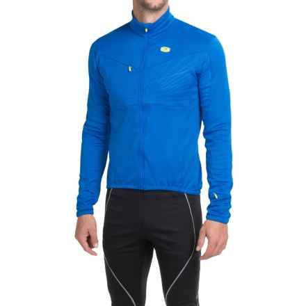 SUGOi HotShot Pro Cycling Jersey - Full Zip, Long Sleeve (For Men) in True Blue - Closeouts