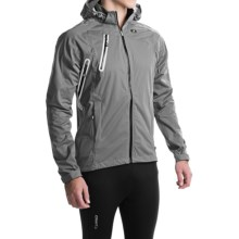 SUGOi Icon Cycling Jacket -Waterproof (For Men) in Concrete - Closeouts