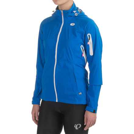 SUGOi Icon Full-Zip Cycling Jacket - Waterproof, Hooded (For Women) in True Blue - Closeouts