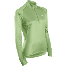 Sugoi Neo Cycling Jersey - Zip Neck, Long Sleeve (For Women) in Light Lotus - Closeouts