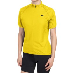 SUGOi Neo Cycling Jersey - Zip Neck, Short Sleeve (For Women) in Lane
