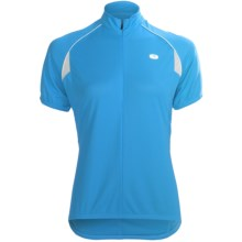 Sugoi Neo Cycling Jersey - Zip Neck, Short Sleeve (For Women) in Sky Blue - Closeouts