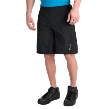 SUGOi Neo Lined Bike Shorts (For Men) in Black - Closeouts