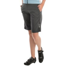 SUGOi Neo Lined Bike Shorts (For Women) in Black - Closeouts