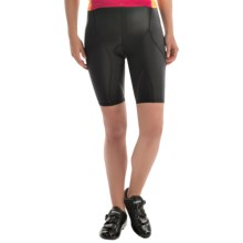 "SUGOi Piston 200 Tri PKT Triathlon Shorts - 9"" (For Women) in Black - Closeouts"