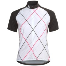 Sugoi Roxie Cycling Jersey - Zip Neck, Short Sleeve (For Women) in Black - Closeouts
