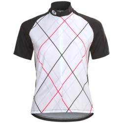 Sugoi Roxie Cycling Jersey - Zip Neck, Short Sleeve (For Women) in Black