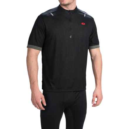 SUGOi RPM-X Cycling Jersey - Zip Neck, Short Sleeve (For Men) in Black - Closeouts