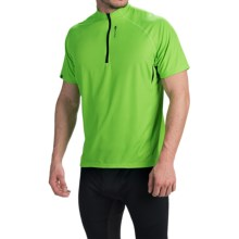 SUGOi RPM-X Mountain Bike Jersey - Zip Neck, Short Sleeve (For Men) in Lotus - Closeouts