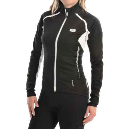 SUGOi RS 120 Full-Zip Convertible Cycling Jacket - Removable Sleeves (For Women) in Black - Closeouts