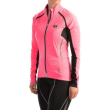 SUGOi RS 120 Full-Zip Convertible Cycling Jacket - Removable Sleeves (For Women) in Super Pink - Closeouts