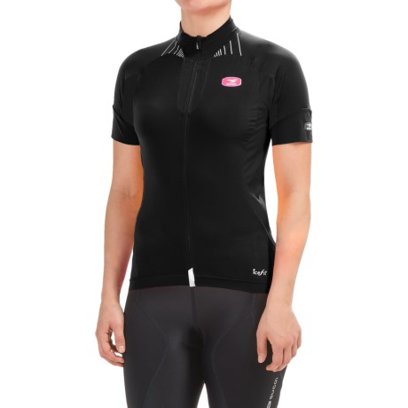 SUGOi RS Ice Cycling Jersey Full Zip, Short Sleeve (For Women)