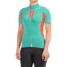 SUGOi RS Ice Cycling Jersey - Full Zip, Short Sleeve (For Women) in Glacier - Closeouts