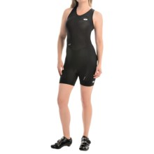 SUGOi RS Ice Tri Suit - Zip Neck, Sleeveless (For Women) in Black/White - Closeouts