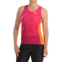SUGOi RS Ice Tri Tank Top (For Women) in Bright Rose - Closeouts