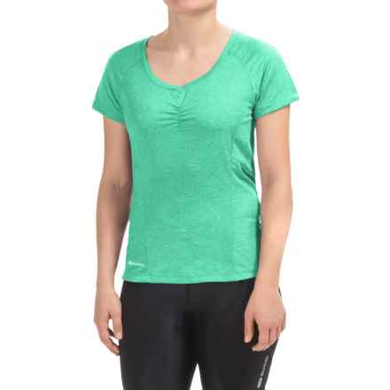 SUGOi Verve Cycling Jersey - Short Sleeve (For Women) in Glacier - Closeouts