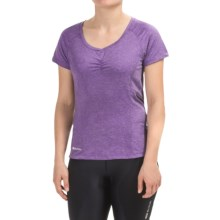 SUGOi Verve Cycling Jersey - Short Sleeve (For Women) in Purple - Closeouts