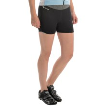 SUGOi Verve Spyn Cycling Shorts (For Women) in Black - Closeouts