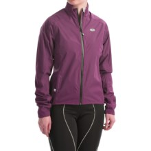 SUGOi Zap Full-Zip Cycling Jacket - Waterproof (For Women) in Boysenberry - Closeouts